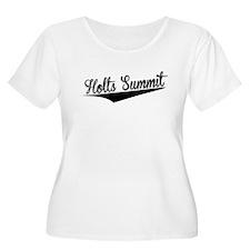 Holts Summit, Retro, Plus Size T-Shirt