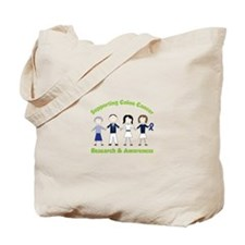 Supporting Colon Cancer Research And Awarness Tote