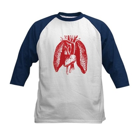 Hungry Stomach Kids Baseball Jersey