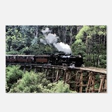 Old Narrow Gauge Steam Tr Postcards (Package of 8)