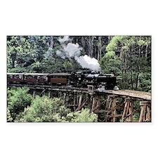 Old Narrow Gauge Steam Train o Decal