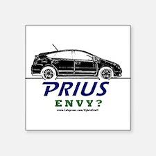 "Prius Square Sticker 3"" x 3"""
