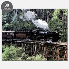 Heritage Narrow Gauge Steam Railway Trestle Puzzle