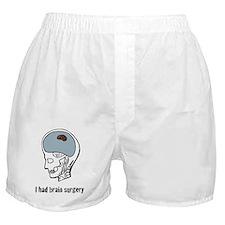 I had brain surgery Boxer Shorts