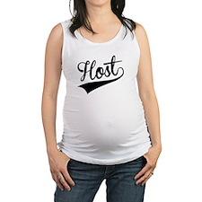 Host, Retro, Maternity Tank Top