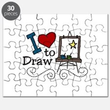 I Love to Draw Puzzle