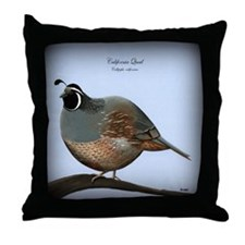 Quail Throw Pillow