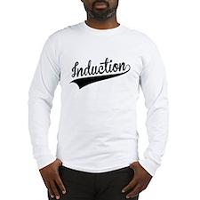 Induction, Retro, Long Sleeve T-Shirt