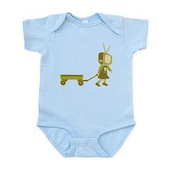 21st Century Digital Girl Infant Bodysuit