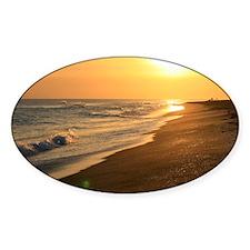 Ocean Sunset over the Beach Decal