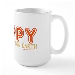 The Nappy Shall Inherit The E Large Mug
