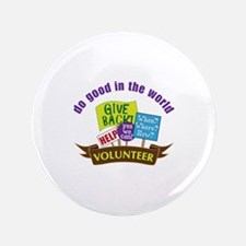 "do good in the world 3.5"" Button"