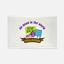 do good in the world Magnets