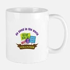 do good in the world Mugs