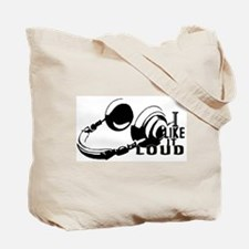Turn It Up - Music Design / Beach Tote Bag