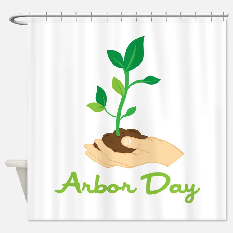 Arbor Day Shower Curtain