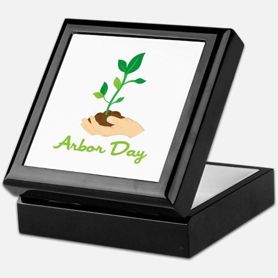 Arbor Day Keepsake Box
