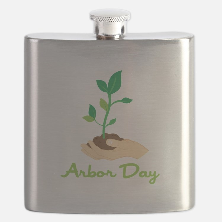 Arbor Day Flask