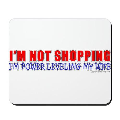 I'm Powerleveling My Wife Mousepad
