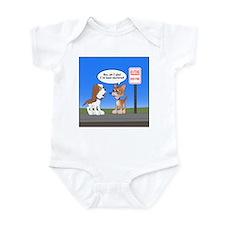 Littering Fine Infant Bodysuit