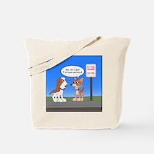 Littering Fine Tote Bag