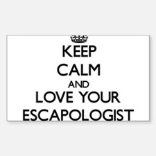 Keep Calm and Love your Escapologist Decal