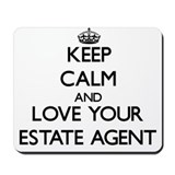 Estate agents uk Mouse Pads
