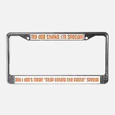 I'm Special (dog) License Plate Frame