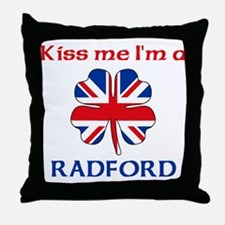 Radford Family Throw Pillow