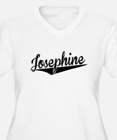 Josephine, Retro, Plus Size T-Shirt