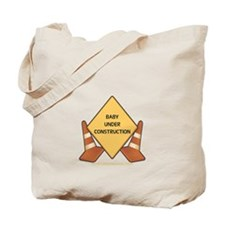 Baby Construction Tote Bag