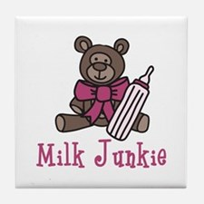 Milk Junkie Tile Coaster