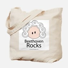 Beethoven Rocks Tote Bag