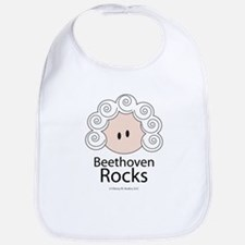 Beethoven Rocks Bib
