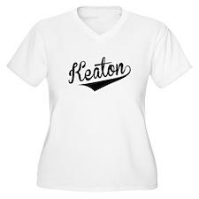 Keaton, Retro, Plus Size T-Shirt
