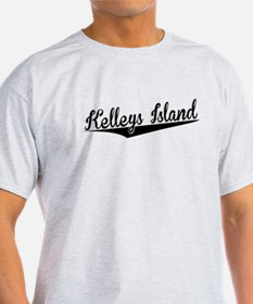 Kelleys Island, Retro, T-Shirt