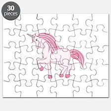 Pink Unicorn Puzzle