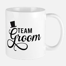 Team Groom with hat Mugs