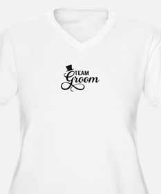Team Groom with hat Plus Size T-Shirt