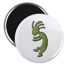 Green Paisley Magnet
