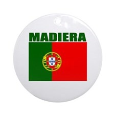Madiera, Portugal Ornament (Round)