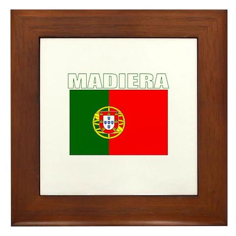 Madiera, Portugal Framed Tile
