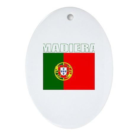 Madiera, Portugal Oval Ornament