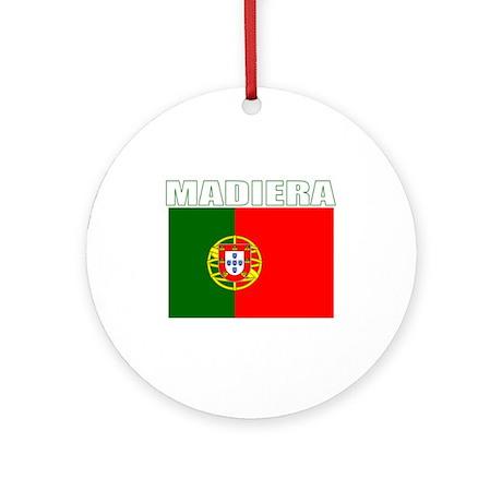 Madiera, Portugal Ornament (Round)