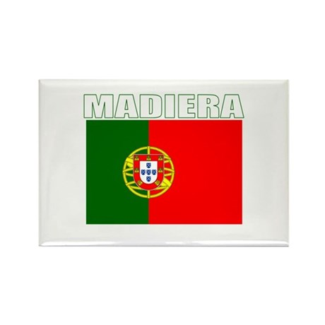 Madiera, Portugal Rectangle Magnet (100 pack)