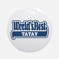 WB Dad [Tagalog] Ornament (Round)