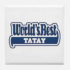 WB Dad [Tagalog] Tile Coaster