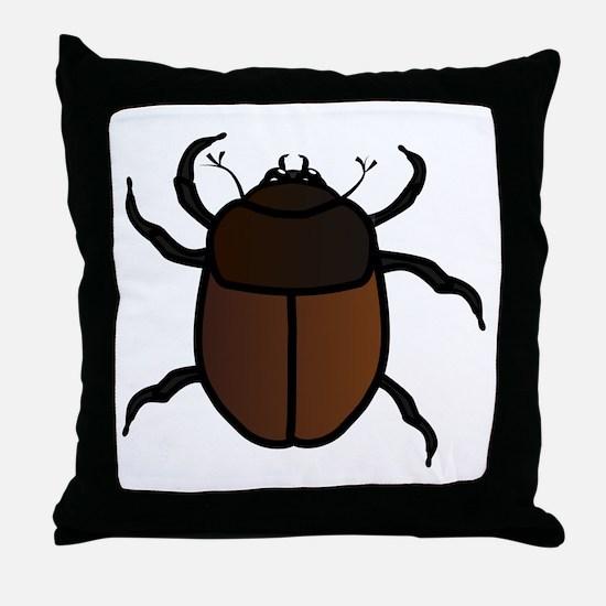 Junebug Throw Pillow