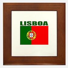 Lisboa, Portugal Framed Tile