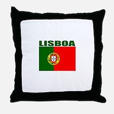 Lisboa, Portugal Throw Pillow